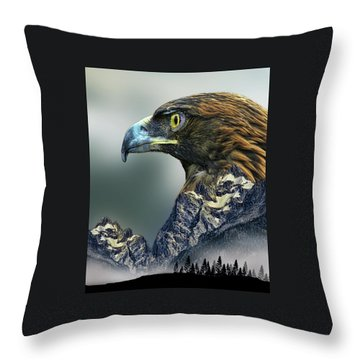Throw Pillow featuring the photograph 4397 by Peter Holme III