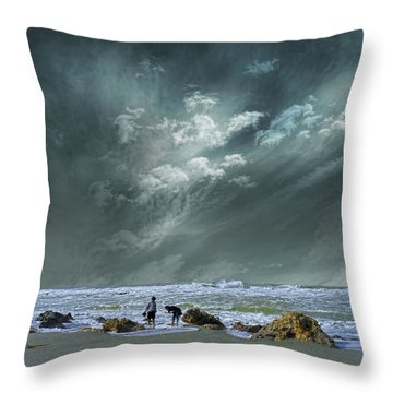 Throw Pillow featuring the photograph 4399 by Peter Holme III