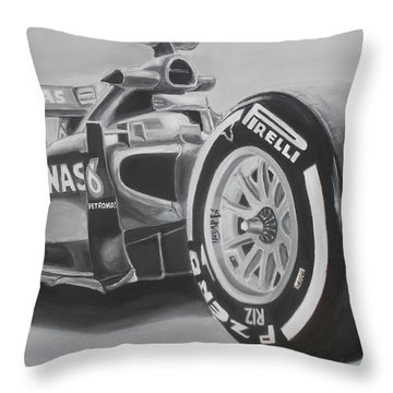 #44 Throw Pillow