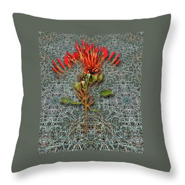 Throw Pillow featuring the photograph 4400 by Peter Holme III