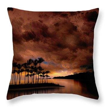 Throw Pillow featuring the photograph 4401 by Peter Holme III