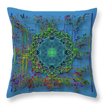 Throw Pillow featuring the photograph 4402 by Peter Holme III
