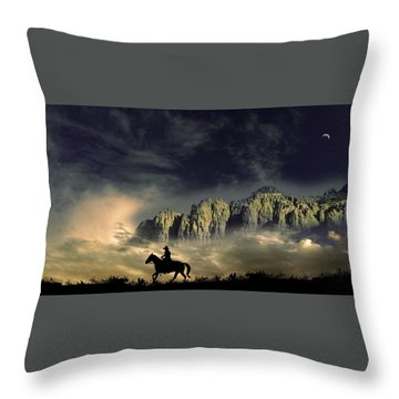Throw Pillow featuring the photograph 4403 by Peter Holme III