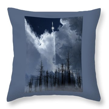 Throw Pillow featuring the photograph 4404 by Peter Holme III