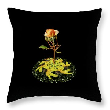 Throw Pillow featuring the photograph 4407 by Peter Holme III