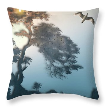 Throw Pillow featuring the photograph 4408 by Peter Holme III