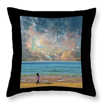 Throw Pillow featuring the photograph 4410 by Peter Holme III
