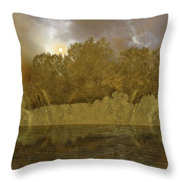 Throw Pillow featuring the photograph 4411 by Peter Holme III
