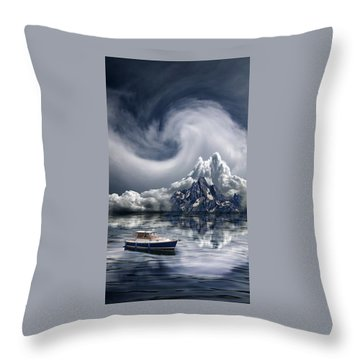 Throw Pillow featuring the photograph 4412 by Peter Holme III