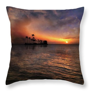 Throw Pillow featuring the photograph 4419 by Peter Holme III