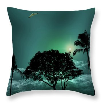 Throw Pillow featuring the photograph 4420 by Peter Holme III