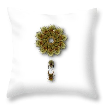 Throw Pillow featuring the photograph 4421 by Peter Holme III