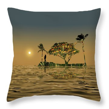 Throw Pillow featuring the photograph 4423 by Peter Holme III