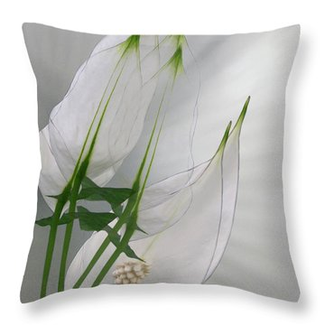 Throw Pillow featuring the photograph 4425 by Peter Holme III
