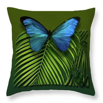 Throw Pillow featuring the photograph 4426 by Peter Holme III