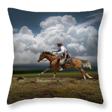 Throw Pillow featuring the photograph 4427 by Peter Holme III