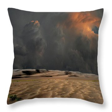 Throw Pillow featuring the photograph 4450 by Peter Holme III