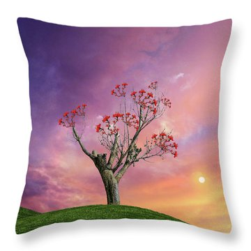 Throw Pillow featuring the photograph 4451 by Peter Holme III