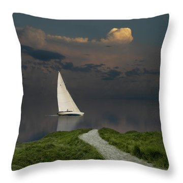 Throw Pillow featuring the photograph 4456 by Peter Holme III