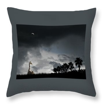 Throw Pillow featuring the photograph 4458 by Peter Holme III