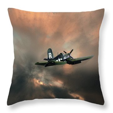 Throw Pillow featuring the photograph 4462 by Peter Holme III