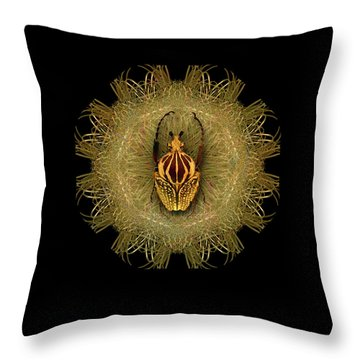 Throw Pillow featuring the photograph 4463 by Peter Holme III