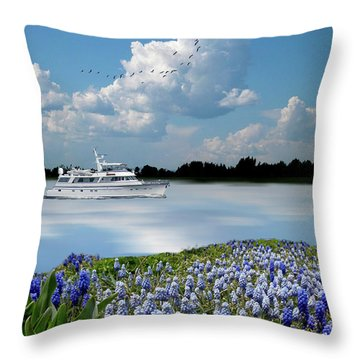 Throw Pillow featuring the photograph 4464 by Peter Holme III