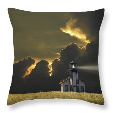 Throw Pillow featuring the photograph 4465 by Peter Holme III
