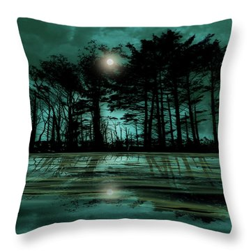 Throw Pillow featuring the photograph 4466 by Peter Holme III
