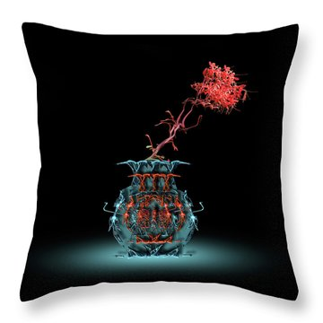 Throw Pillow featuring the photograph 4469 by Peter Holme III