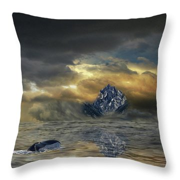 Throw Pillow featuring the photograph 4471 by Peter Holme III
