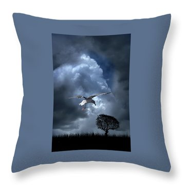 Throw Pillow featuring the photograph 4472 by Peter Holme III