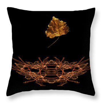Throw Pillow featuring the photograph 4473 by Peter Holme III
