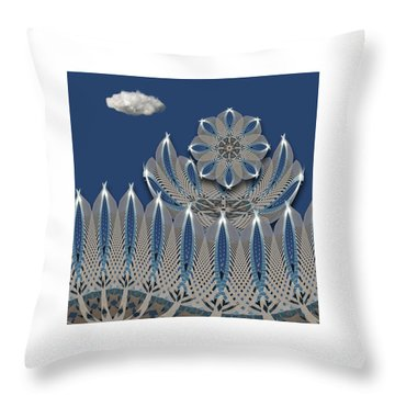 Throw Pillow featuring the photograph 4475 by Peter Holme III