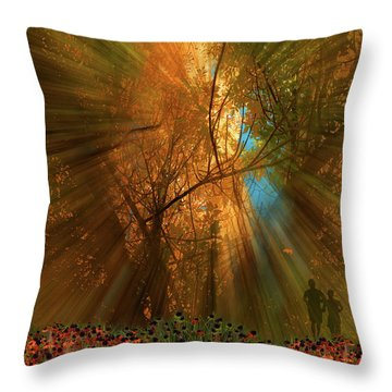 Throw Pillow featuring the photograph 4478 by Peter Holme III