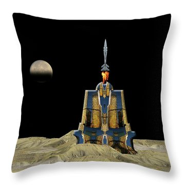 Throw Pillow featuring the photograph 4481 by Peter Holme III