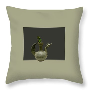 Throw Pillow featuring the photograph 4482 by Peter Holme III