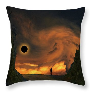Throw Pillow featuring the photograph 4484 by Peter Holme III