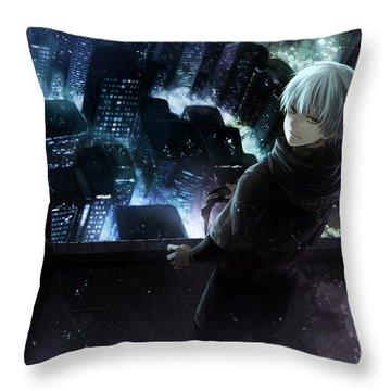 45593 Tokyo Ghoul Throw Pillow