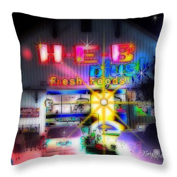 #4570_heb_1_arty Throw Pillow by Barbara Tristan