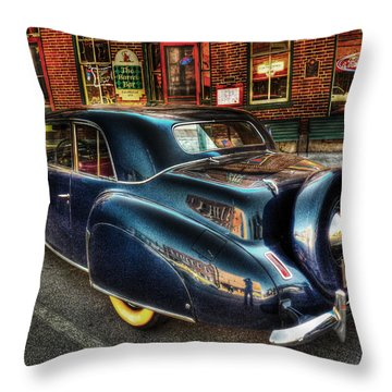 46 Continental Throw Pillow by William Fields