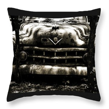 47 Oldsmobile Throw Pillow