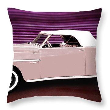 49 Dodge Wayfarer Roadster Throw Pillow