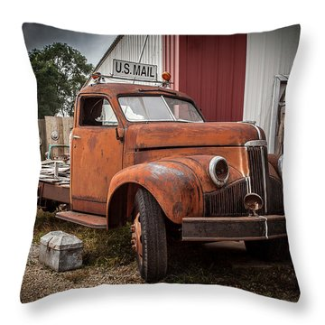 '49 Studebaker Throw Pillow