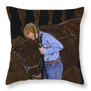4h - Crushing Compassion Since 1913 Throw Pillow