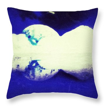 4th Planet Throw Pillow