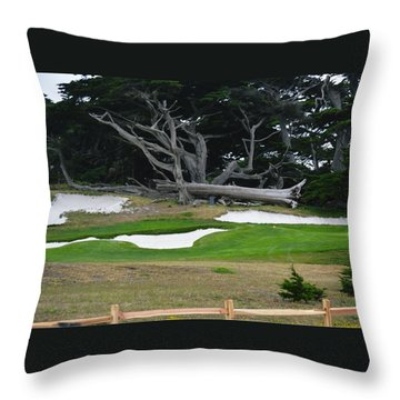 17-mile Drive Throw Pillow