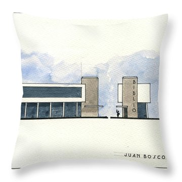 Architectural Drawing Throw Pillow