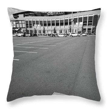 New York Baseball Parks Throw Pillows