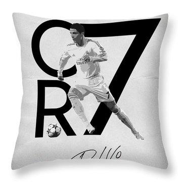 Cristiano Ronaldo Throw Pillows